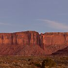 West Mitten and Sentinel Mesa at Nightfall by TheBlindHog