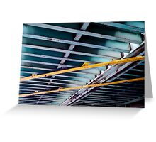 Under The Bridge (Bands of Gold) Greeting Card