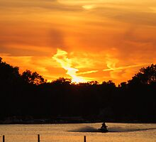 Sunset - Round Lake Illinois by KevinsView
