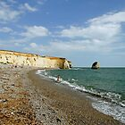 Freshwater Bay Beach by Rod Johnson