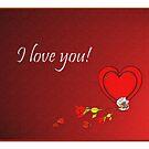 'I Love you' Valentine card by sarnia2