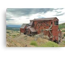 Victor Colorado Mine Canvas Print