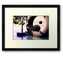 Waterworld dream Framed Print