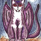 Vampire Cat by Cat-Artist