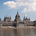Parliament buildings, Budapest by BizziLizzy