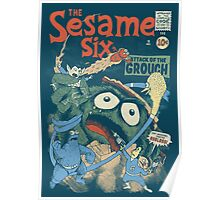 The Sesame Six Poster