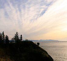 Cape Disappointment Lighthouse by Shannon Sneedse