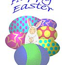 Easter Eggs and bunny by Mary Taylor