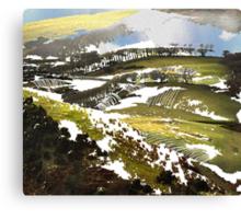 """Late Snow""  Canvas Print"