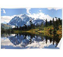 Mt. Shuksan, Picture Lake Poster