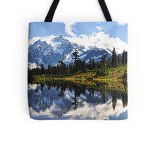 Mt. Shuksan, Picture Lake Tote Bag