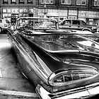 """59 Chevy Fins"" by raberry"