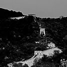 "Great Wall of China in B&W by Christine ""Xine"" Segalas"