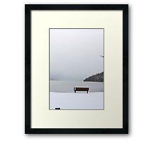 Waterton Lakes National Park Framed Print