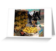 Bananas today! Greeting Card