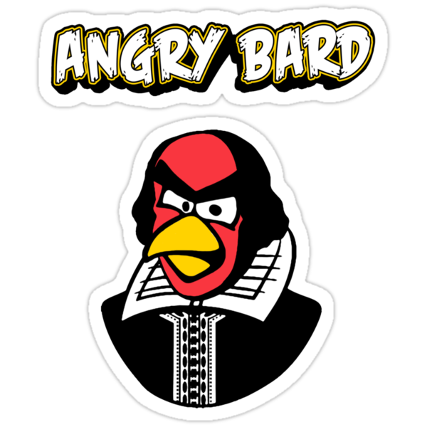 Angry Bard by Brother Adam