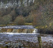 Wainwath Force,Swaledale by Jamie  Green