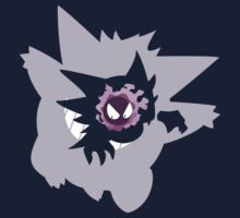Gastly - Haunter - Gengar Kids Clothes