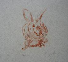 Pest - the rabbit by Frances Henke