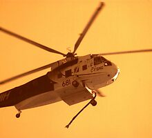 Fire Helicopter IR by BigAndRed