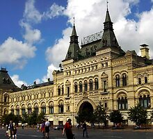 Moscow TSUM, The Famous Mall In Red Square by Svetlana Day