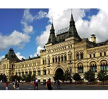 Moscow TSUM, The Famous Mall In Red Square Photographic Print