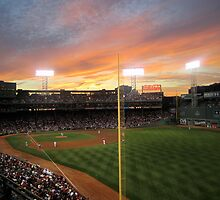 Sunset at Fenway  by Rae Breaux