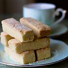 Shortbread for tea by Justine Gordon