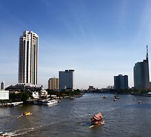 Chao Praya River - Early Morning by vanyahaheights