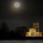 """Moonlight""  St Laud's Church Sherington by James  Key"