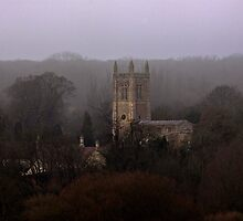 All Saint's Church Odell  by James  Key
