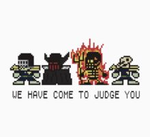 The Dark Judges (8bit) by TheRandomFactor