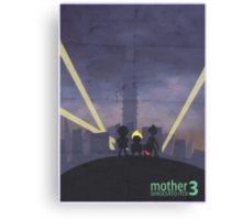 Minimalist Video Game Art: Mother 3  Canvas Print