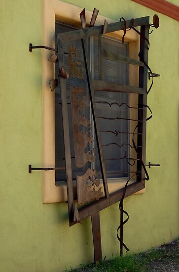 Unique Window by Lucinda Walter