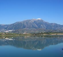 The Lake.  La Vinuela by Aase