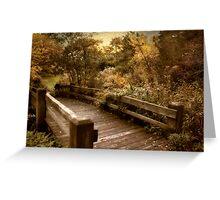 Splendor Bridge Greeting Card