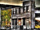 Abandoned Marathon Station  by Marcia Rubin