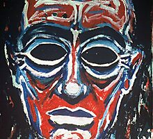 'Portrait of the Artist as a Blind Man' by Jerry Kirk