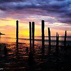 port willunga at sunset by corrinalisa