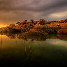 Sunset Sliver by Bob Larson