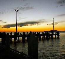 Lancelin Jetty by Deborah Clearwater