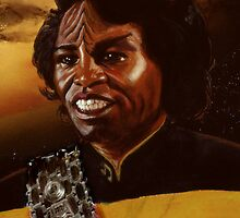 James Brown as a Klingon by Sheffield Abella