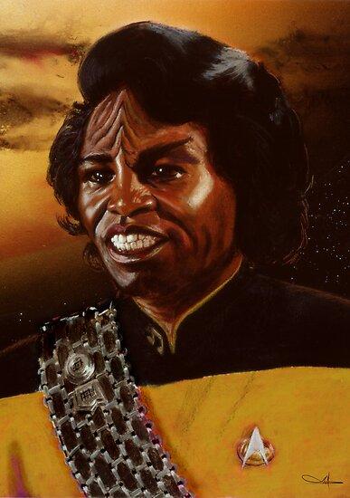 James Brown as a Klingon by Sheffield Abella