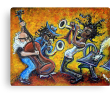 The Jazz Trio Canvas Print