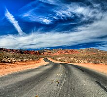 I'm on a road to somewhere... by Sylvain Dumas