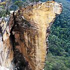 Hanging Rock - Blue Mountains - Photo No 2. by Alwyn Simple