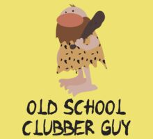 Old School Clubber Guy by InkRain