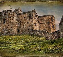 Warkworth Castle Northumbria by eddiej