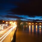River severn at night by dan williams