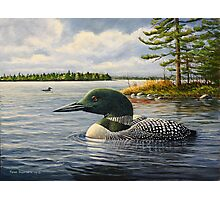 """Loon On The Roseway"" Photographic Print"